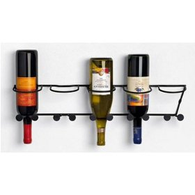 Wall Mount 5 Bottle Rack