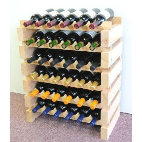 36 Bottle Modular Wine Rack