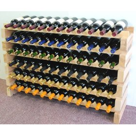 72 Bottle Modular Rack